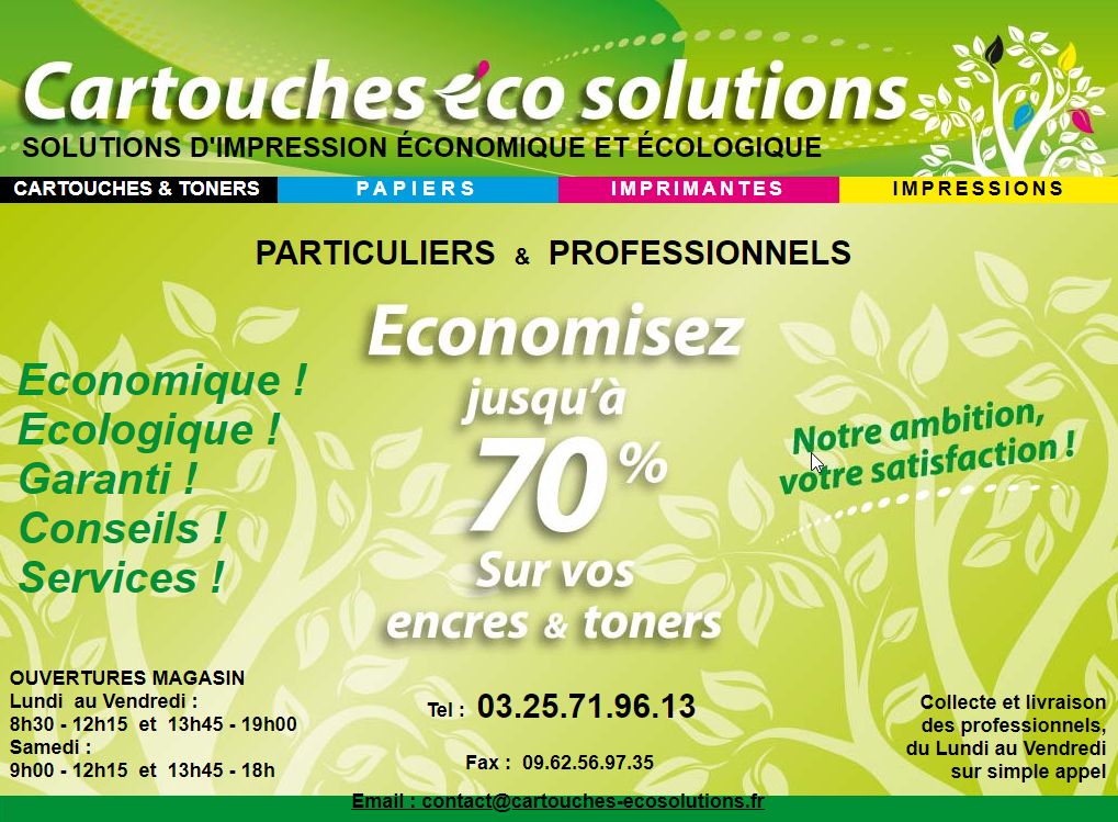 Cartouches Eco Solutions - image 1